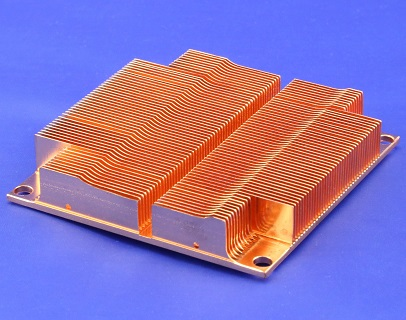 Skived Copper Heat Sink
