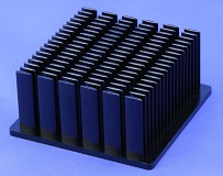 Cold Forged Elliptical Pin Heat Sinks