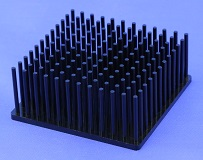 Cold Forged Round Pin Heat Sinks