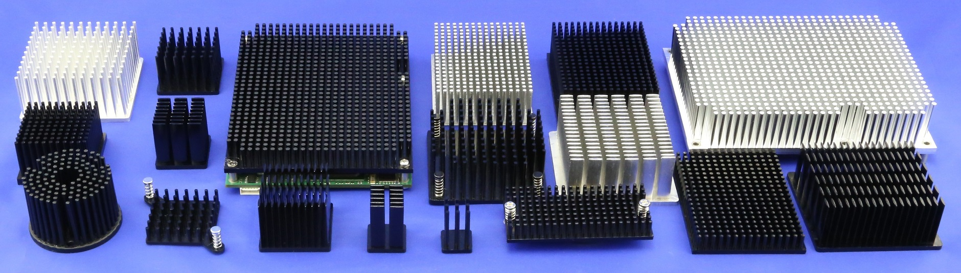 Cold Forged Pin Fin Heat Sinks