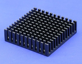 Cross Cut Heat Sink by Extrusion