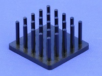 S801-2700-145 Cold Forged Round Pin Heat Sink