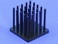 S801-2700-245 Cold Forged Round Pin Heat Sink