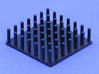 S801-3300-095 Cold Forged Round Pin Heat Sink