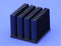 S803-3500-145 Cold Forged Elliptical Pin Heat Sink