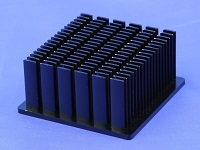 S803-6000-279 Cold Forged Elliptical Pin Heat Sink